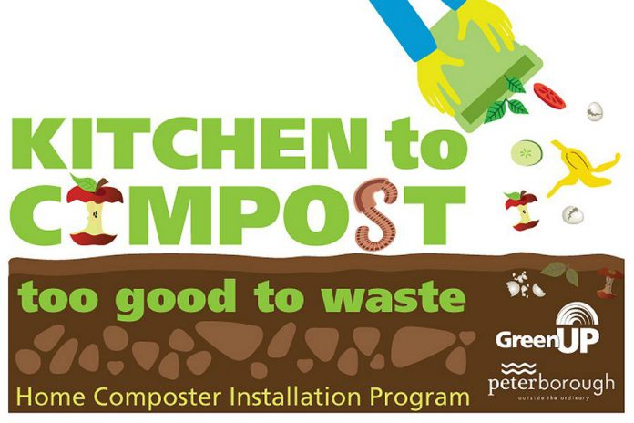 Kitchen to Compost is a home composting program offered to Peterborough residents by the City of Peterborough in partnership with GreenUP. After a very successful pilot in 2018, the program is now in its second year.