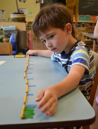 "One of the fundamental Montessori philosophies is to follow the child. At Kawartha Montessori School, class time as an opportunity for students to pursue ideas and subjects that interest them for long, uninterrupted blocks of time. It's about what the student is learning, not what the teacher is telling them. This approach to the set curriculum is called ""structured freedom"". (Supplied photo)"