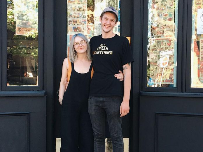 Tasha and Conner Clarkin of Electric City Vegan are in the final stages of opening their new restaurant, Revelstoke, in downtown Peterborough. (Photo: Revelstoke)