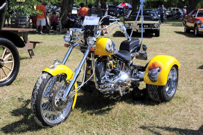 Car and motorcyle enthusiasts from across Ontario will be displaying their antique, vintage, and classic machines during the 23rd annual Transportation Day Car & Motorcycle Show at Lang Pioneer Village Museum in Keene on July 14, 2019. More than 50 trophies will be awarded, including the coveted People's Choice and Lang's Choice awards. (Photo courtesy of Lang Pioneer Village Museum)