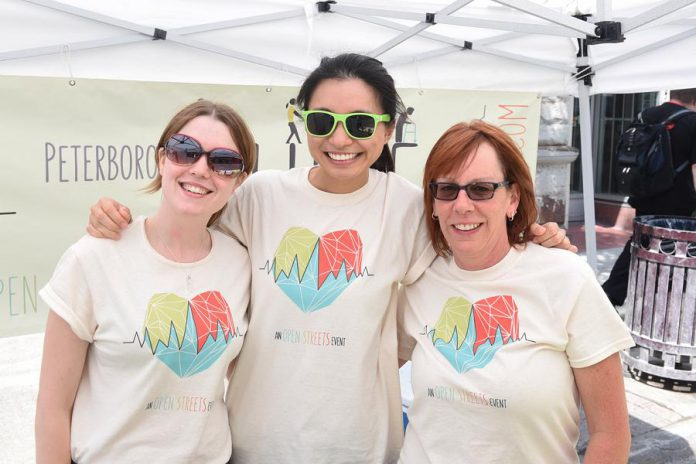 Peterborough Pulse volunteers help to bring fun to the streets. Sign up today at ptbopulse.com to volunteer with Pulse 2019. (Photo courtesy of Peterborough Pulse)