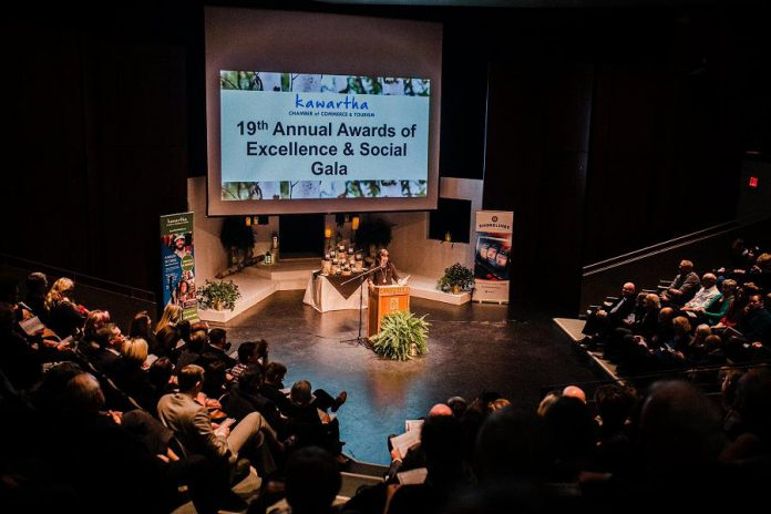 Kawartha Chamber of Commerce & Tourism's 2018 Awards of Excellence & Social Gala at Lakefield College School. This year's event takes place on October 10, 2019. (Photo: Kawartha Chamber of Commerce & Tourism)