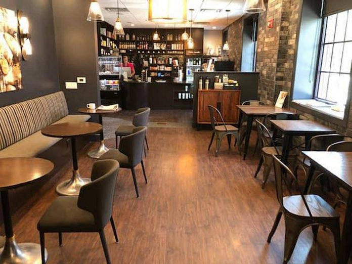 The expanded Euphoria Caffé at Euphoria Wellness Spa in downtown Peterborough. (Photo courtesy of Euphoria Wellness Spa)
