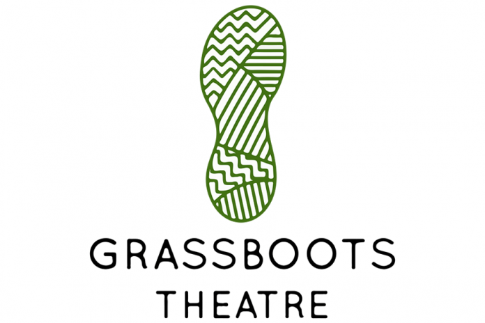 Founded by Chris Whidden and and Peyton Le Barr, Grassboots Theatre Company is the Kawarthas' newest theatre company. (Graphic: Grassboots Theatre Company)