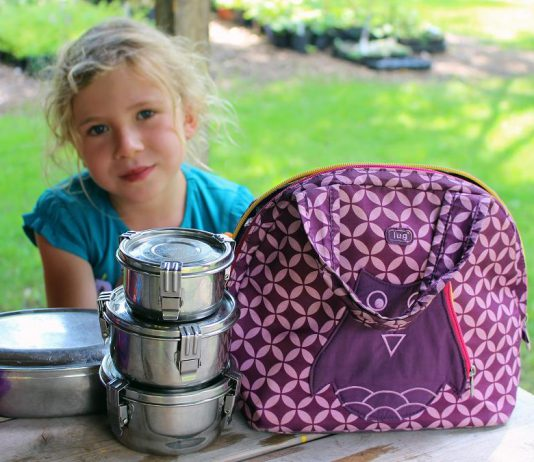 For zero-waste lunches, resuable stainless steel containers are a great option. Unlike plastic containers, they are hard wearing, long lasting, and free of BPA and other harmful toxins. (Photo: GreenUP)