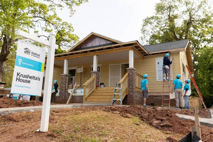 Habitat for Humanity traditionally builds single detached homes for lower-income families. The Leahy's Lane multi-unit development will allow Habitat to also support low-income couples, singles, and seniors. (Photo courtesy of Habitat for Humanity Peterborough & Kawartha Region)