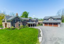 This photo of a spectacular $2.7 million luxurious century-style estate at 124 Lily Lake Road in Selwyn was our most-viewed photo on Instagram in July. (Photo courtesy of The Galvin Team / RE/MAX Eastern Realty Inc.)