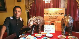 Mohammad Shahidul Islam, who owns Curry Village in downtown Peterborough with his brother Muslim Islam, uses natural ingredients and a variety of spices to make fresh and healthy Indian food. The restaurant is celebrating its 25th anniversary with a special event on September 21, 2019. (Photo: Eva Fisher / kawarthaNOW.com)