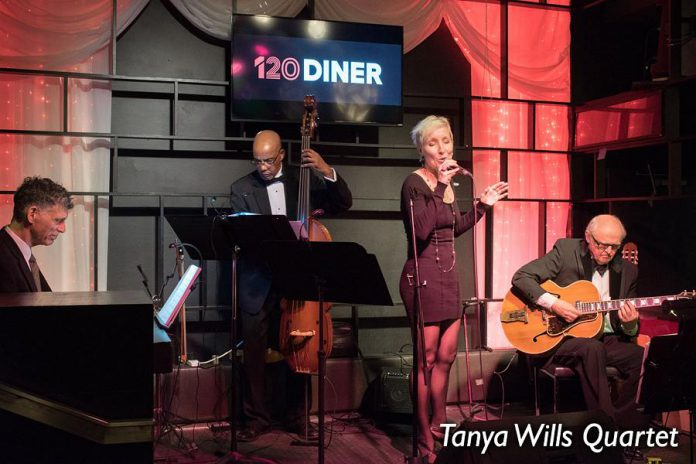 Toronto jazz vocalist Tanya Wills will be performing with her quartet at the SOS Lounge in Warkworth on Saturday, August 3rd as part of Westben's annual Jazz Fringe Festival, which takes place from August 2nd to 4th and features jazz musicians performing at various eateries in Campbellford, Hastings, and Warkworth. (Publicity photo)