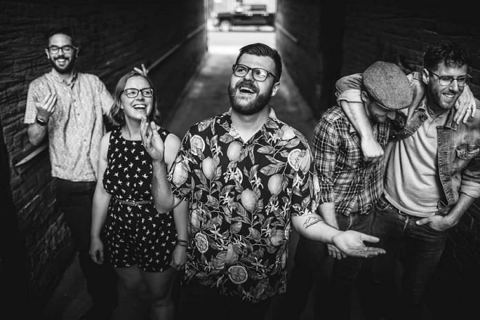 Peterborough-born indie folk-pop band I, The Mountain, who just successfully crowd-funded their debut full-length album, is performing at The Church-key Pub & Grindhouse in Campbellford on Saturday, August 31st. (Photo: Bryan Reid)