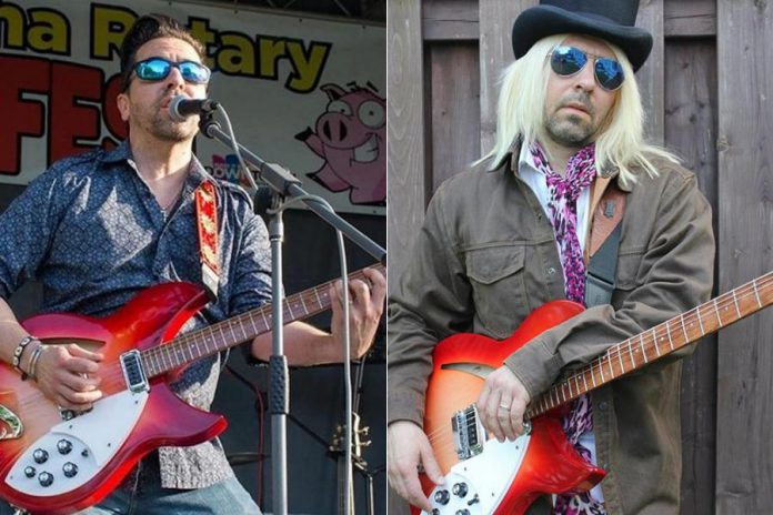 We Ain't Petty lead vocalist and guitarist Barry Davis, pictured on the right costumed as Tom Petty. (Photo: We Ain't Petty)