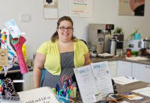 Play Café Peterborough Sarah Susnar was one of 20 mentees who participated in the Women's Business Network of Peterborough's mentoring pilot program in 2018-19. She says it was a great experience and would recommend the program to anyone needing help in her business. The mentorship program is back for 2019-20, with applications opening in September. (Photo: Paula Kehoe)
