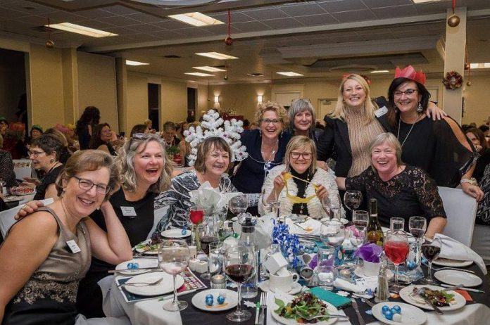 WBN members celebrating the holiday season during the annual WBN Holiday Gala and Auction. (Photo: WBN / Facebook)