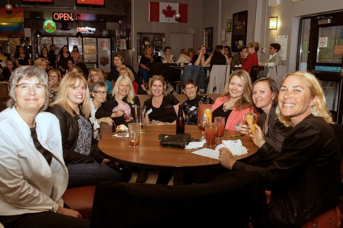 WBN members enjoying the June 2019 end-of-season celebration at the Steele Centre at Fleming College. (Photo: WBN / Facebook)