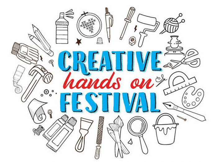 The Creative Hands On Festival runs  from 10 a.m. to 4 p.m from Friday, September 13th to Sunday, September 15th in Peterborough Square in downtown Peterborough. (Graphic: Creative Hands On Festival)