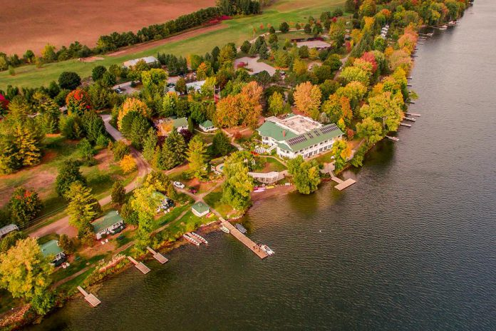 Elmhirst's Resort, located on the shores of Rice Lake in Keene, is a Tourism Employer of the Year finalist for the 2019 Tourism Industry Awards of Excellence. The award recognizes an organization that has developed an admirable reputation as a great place to work, and that has established itself as an upstanding example of Ontario's tourism industry. (Photo courtesy of Elmhirst's Resort)