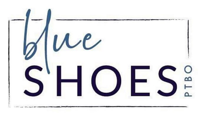 Blue Shoes Ptbo, the new name and logo of Pensieri Shoes. (Logo: Tenth Line Graphic Design & Brand Studio)