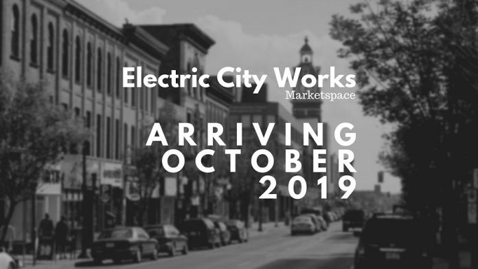 Electric City Works is now accepting applications and plans to open in October 2019. (Graphic courtesy of Electric City Works)