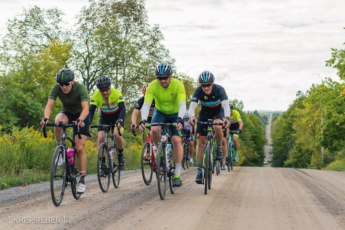 Peterborough's quiet rural roads–with picturesque countryside, waterfront vistas, and nature around every corner–are a special attraction for road cyclists. (Photo: Kris Sieber / Peterborough Cycling Club)