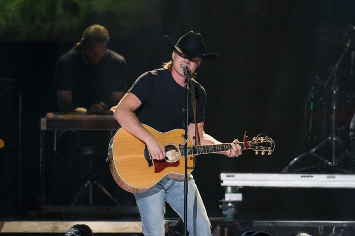 Bailieboro native Jade Eagleson performing at the 2019 CCMA Awards in Calgary on September 8, 2019, where he received the Rising Star Award. (Photo: Canadian Country Music Association)
