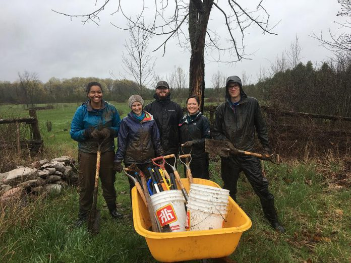 In 2018, more than 110 volunteers helped Kawartha Land Trust carry out its mission to protect donated lands in perpetuity. (Photo courtesy of Kawartha Land Trust)
