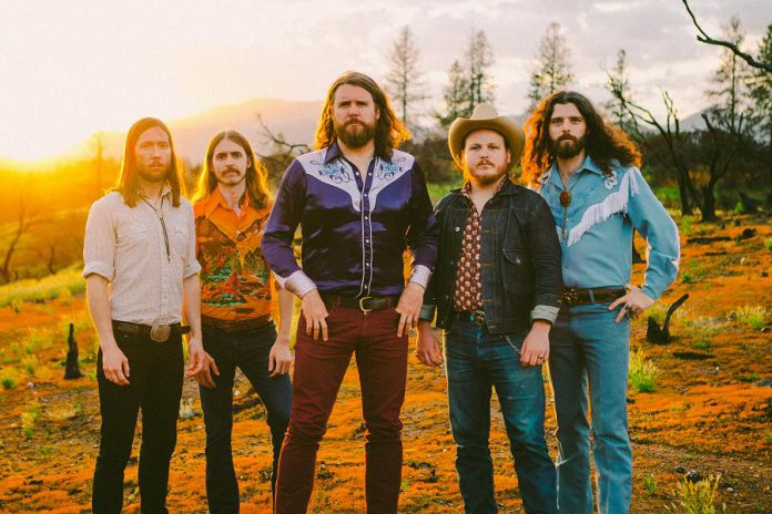 If you missed them at Peterborough Musicfest in July, you have another chance to see triple Juno Award-winning Saskatoon-based quintet The Sheepdogs. They'll be performing at the Cultivate Festival in Port Hope on September 20, 2019. Pictured are Sam Corbett (drums, backing vocals), Shamus Currie (keyboards, trombone), Ewan Currie (vocals, guitars, clarinet, drums), Jimmy Bowskill (guitars, mandolin, fiddle, banjo, pedal steel), and Ryan Gullen (bass, backing vocals). (Publicity photo)