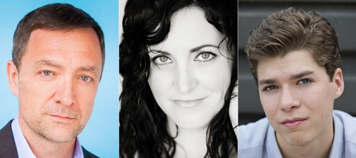 """Along with Jonathan Wilson and Tracey Hoyt, Toronto-based actor Jeff Miller and Peterborough actors Megan Murphy and Quinlan Shearer will perform in New Stages Theatre Company's staged reading of Harvey Fierstein's """"Torch Song"""" at the Market Hall in downtown Peterborough on September 15, 2019. (Supplied photos)"""
