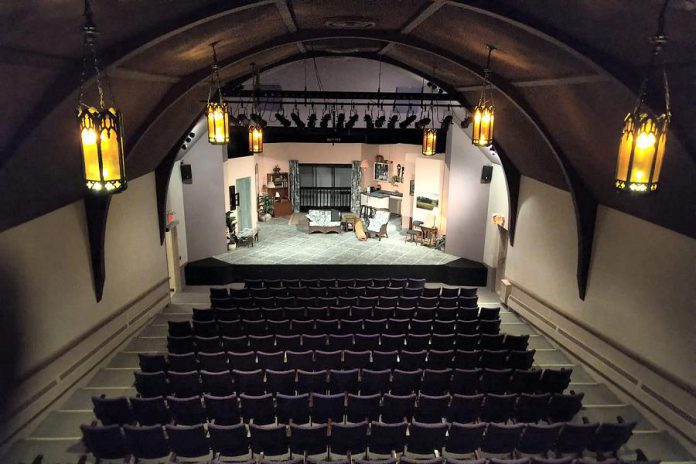 "The set of Peterborough Theatre Guild's production of ""Six Dance Lessons in Six Weeks"" on opening night at the Guild Hall in Peterborough. (Photo: Esther Vincent)"