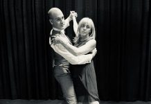 "J.P. Baldwin and Jennifer Gruer star in the Peterborough Theatre Guild production of Richard Alfireri's ""Six Dance Lessons in Six Weeks"". The comedy, about a formidable widow who hires an acerbic dance instructor to give her dance lessons, runs from September 20 to October 5, 2019 at the Guild Hall in Peterborough. (Photo: Lynn Braun)"