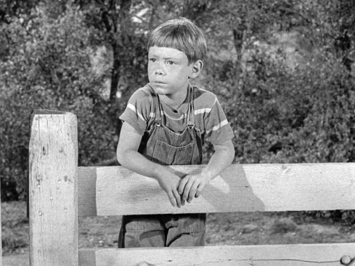 "A scene from ""It's a Good Life"", a 1961 episode of The Twilight Zone written by Rod Serling based on a short story by Jerome Bixby, about a six-year-old boy with godlike mental powers.  It is one of two episodes that will be recreated for the stage at The Theatre on King in downtown Peterborough on September 20, 2019.  (Photo: CBS Productions)"