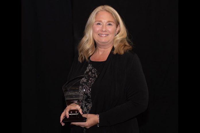 Sally Harding of Nightingale Nursing was named 2019 Citizen of the Year by the Kawartha Chamber of Commerce & Tourism. (Photo: C & S Gage Photography)