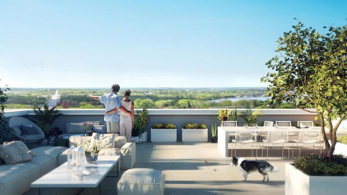 The ninth floor of East City Condos offers the highest level of luxury condominium living in Peterborough, with exclusive penthouse suites featuring spacious layouts and stunning views. A few suites also feature a private rooftop terrace with direct in-suite access.  (Rendering courtesy of TVM Group)