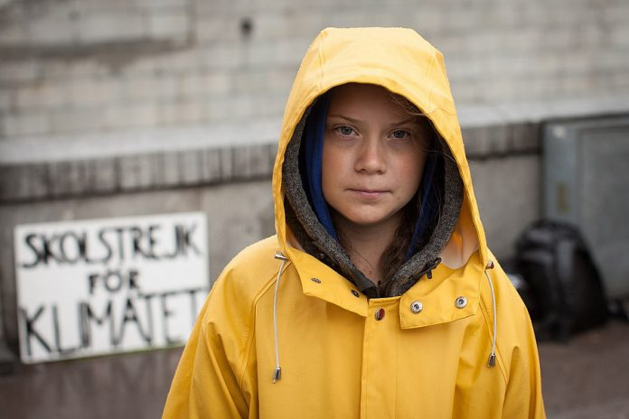 In August 2018, outside the Swedish parliament building, Greta Thunberg started a solo school strike for the climate, inspiring hundreds of thousands of teenagers and others across the globe to protest government inaction on climate change and making Thunberg, only a year later, the spokesperson for a generation of future voters. Millennial voter Benjamin Hargreaves believes that climate change activists like Thunberg may help drive his generation to the polls in record numbers. (Photo: Anders Hellberg)