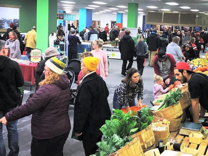The indoor winter location of the Peterborough Regional Farmers' Market in Peterborough Square is a popular destination with shoppers who want to support local producers. The 2019-20 indoor market runs every Saturday from 8 a.m. to 1 p.m. beginning November 2nd. (Supplied photo)