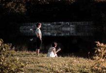 "Kevin Lemieux as Melchior and Alessandra Ferreri as Wendla in a promotional photo for Cordwainer Productions' ""Spring Awakening"", a Broadway rock musical that tells the story of a group of teenagers dealing with the turbulent emotions of their burgeoning sexuality in late 19th-century Germany. The production debuts at the Courthouse Theatre in Whitby on October 18 and 19 before running at the Market Hall in Peterborough from October 24 to 26, 2019. (Photo: Samantha Moss / MossWorks Photography)"