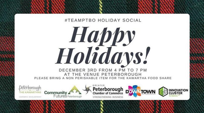 #TeamPtbo holiday social