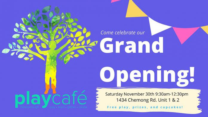 Play Café grand opening