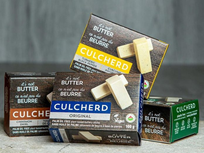 Culcherd's product line extensions include a Turmeric Black Pepper Butter and Cinnamon Swirl Butter. The company also produces six flavours of  artisanal cheeses.  (Photo courtesy of Culcherd)