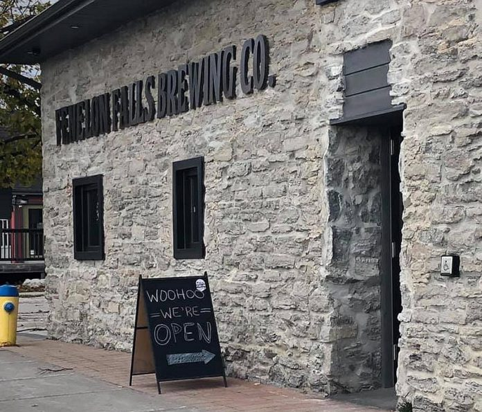 The new taproom in Fenelon Falls Brewing Co.'s historic building at 4 May Street opened for business on November 5, 2019. (Photo: Deborah Banks / Facebook)