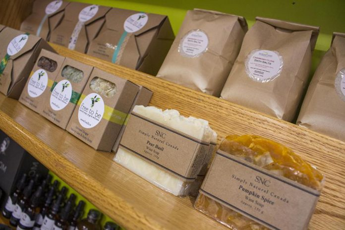 The GreenUP Store offers a number of all-natural, chemical-free personal care product (many locally made) that you can use instead in your daily hygiene routine. (Photo courtesy of GreenUP)