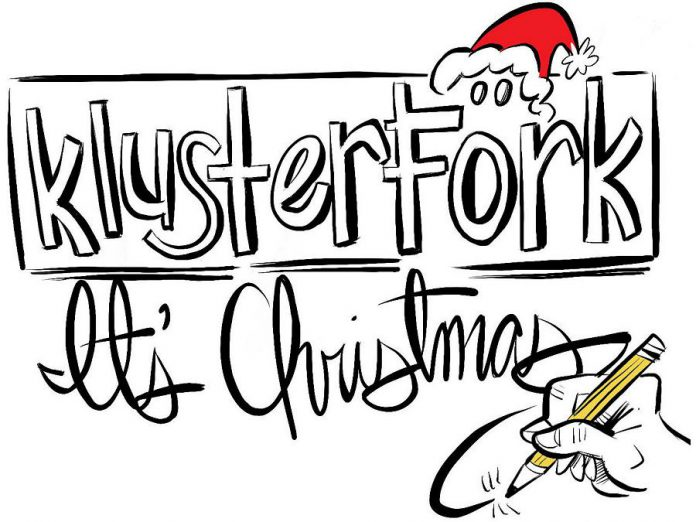 "Created by Linda Kash and Pat Maitland, ""Klusterfork It's Christmas"" is an improv comedy show featuring sketches that poke good-natured fun at the holidays we all love to endure. The show,  at  Market Hall Performing Arts Centre in downtown Peterborough on November 22, 2019, will also raise funds for Five Counties Children's Centre Peterborough."