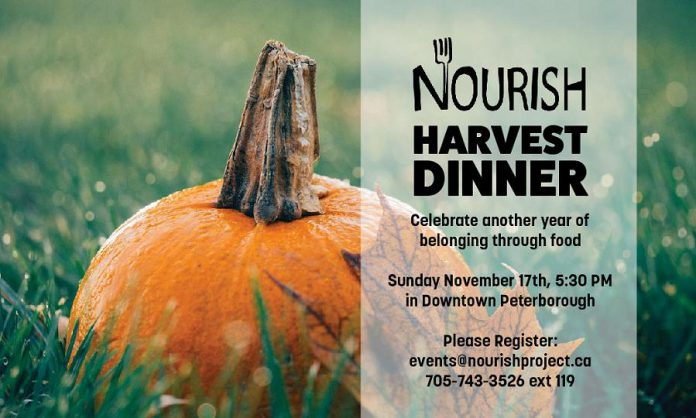 The 2019 Nourish Harvest Dinner takes place on Sunday, November 17th. (Graphic:  Nourish Project)