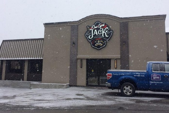 With one location already in Oshawa, One Eyed Jack Pub & Grill will open its Peterborough location in the space previously occupied by The Carousel restaurant on Lansdowne Street East. (Photo: Eva Fisher / kawarthaNOW.com)