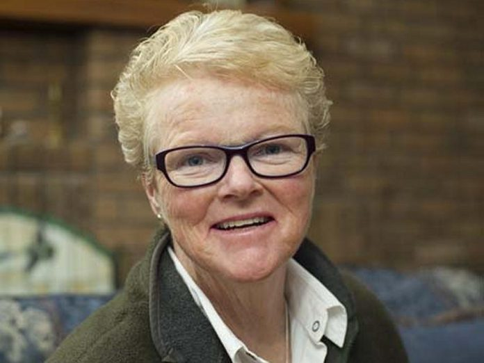 Major Lee-Ann Quinn (retired) will receive the Sovereign's Medal for Volunteers from Governor General Julie Payette in Ottawa on November 12, 2019. She will be recognized for her leadership roles with the Peterborough chapter of the Canadian Association of Veterans in United Nations Peacekeeping and her role as a co-founder of Salaam Peterborough, which has sponsored several Syrian refugee families in Canada. Quinn is pictured here in 2016 as part of a feature story by Macleans magazine on the work of Salaam Peterborough. (Photo: Macleans.ca)