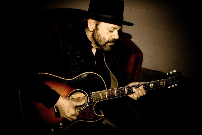 "Singer-songwriter and virtuoso guitarist Colin Linden, who has performed with the likes of Bob Dylan, Bruce Cockburn, Emmylou Harris, Robert Plant and Alison Krauss, will be performing a rare solo concert at Market Hall Performing Arts Centre on November 30, 2019. The music director of the hit TV series ""Nashville"", Colin has recently been touring the U.S. and U.K. as a member of Nashville star's Charles Esten's band. (Photo: Laura Godwin)"