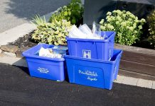 A Peterborough woman has been charged with assaulting a recycling collection worker after she was advised her improperly sorted recycling would not be collected. On November 1st, Emterra Environmental became the City of Peterborough's new recycling collection and processing service provider. At that time, the city advised it would be enforcing a policy of proper sorting of recyclables, and that improperly sorted recyclables would not be collected. (Photo: City of Peterborough)