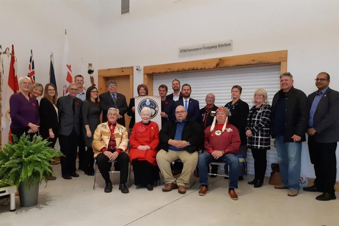 The Community Economic Development Incentive (CEDI) was reached during the Friendship Accord Signing Ceremony between Curve Lake First Nation, Hiawatha First Nation, the County of Peterborough, Selwyn Township, Otonabee-South Monaghan Township and Peterborough & the Kawarthas Economic Development on Saturday, November 2nd at Lang Pioneer Village. (Photo: Cando)