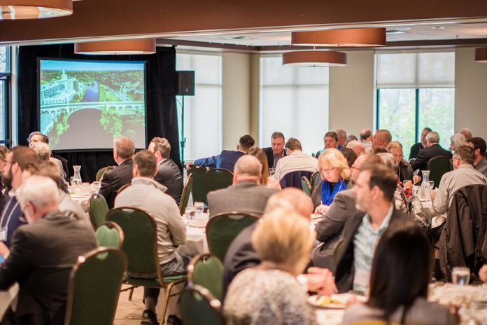 Over 120 guests attended the 2019 TD Economic Outlook Luncheon, hosted by TD Bank Group Canada, Baker Tilly and PKED, at the Peterborough Golf & Country Club on Wednesday, October 30th. (Photo: Alyssa Cymbalista)