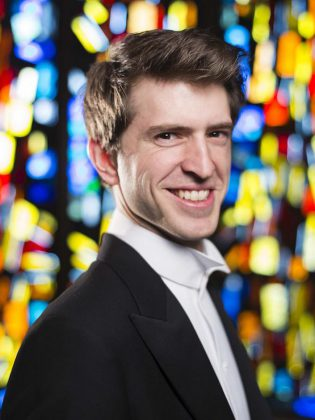"During the Peterborough Symphony Orchestra's ""Christmas Fantasia"" concert at Showplace Performance Centre on December 7, 2019, lyric baritone Bradley Christensen will join the PSO and the Toronto Children's Chorus in a performance of Ralph Vaughan Williams' ""Fantasia on Christmas Carols"", a 12-minute work of three English folk carols. (Publicity photo)"