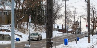 The City of Peterborough advises residents may experience delays in recycling collection until November 25, 2019. The city's new recycling collection and processing service provider Emterra Environmental has been having difficulties with the new recycling trucks it purchased for the city's collection service. (Photo: Bruce Head / kawarthaNOW.com)